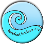 image of barefoot bodeez art wave logo