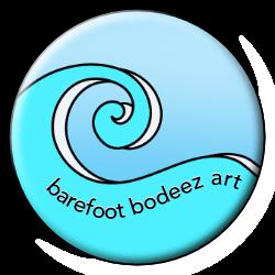 image of barefoot bodeez art wave logo